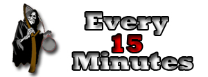 Welcome to the Every 15 Minutes Web Store - Every 15 Minutes Store